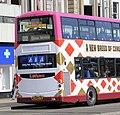 Lothian Buses bus 326 Volvo B9TL Wright Eclipse Gemini 2 SN09 CVG Harlequin livery Connect 22 route branding.jpg