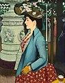 Louis Anquetin - An Elegant Woman at the Élysée Montmartre (Élégante à l'Élysée Montmartre) - 2014.645 - Art Institute of Chicago.jpg