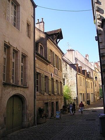 Дом, в котором родился Луи Пастер, Доль, департамент Юра, (Франция)
