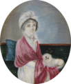 Louise Marie Adélaïde de Bourbon, Duchess of Orléans with a dog, miniature.png