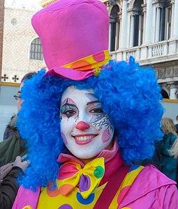 Lovely shot of a happy clown (8498717813).jpg