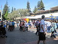 Lower Sproul Plaza during Cal Day 2010 2.JPG