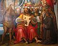 Luca signorelli e bottega, madonna col bambino, l'eterno e santi, 1519-1523, 02.JPG
