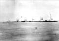 Lumber raft with sails, Lake Manitoba, 1891.png