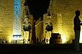 Luxor Temple at night, lights, Luxor, Egypt.jpg
