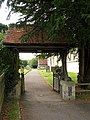 Lych Gate, Church at Chieveley - geograph.org.uk - 39268.jpg