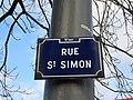 Lyon 9e - Rue Saint-Simon - Plaque (fév 2019).jpg