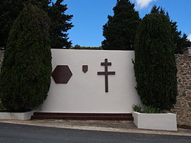 Monument to the Maquis la Tourette at Ferrières-Poussarou