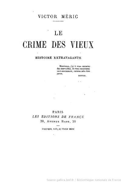 File:Méric - Le Crime des Vieux, 1927.djvu