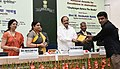 M. Venkaiah Naidu giving away the National Awards for Excellence in Journalism, at the Valedictory of Golden Jubilee celebrations of the Press Council of India, on the occasion of the National Press Day, in New Delhi (8).jpg