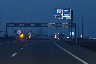 Highway M03 (Ukraine) - M03 road in Poltava region