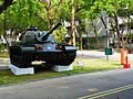 M48A3 and Fire hydrant in Chengkungling 20121006.JPG