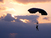 MARSOC parachutist
