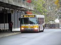 MBTA route 220 bus at Quincy Center, October 2015.JPG