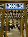 MC 澳門 Macau 路氹城 Cotai 四季名店 Shoppes at Four Seasons mall interior shop MOSCHINO name sign.jpg