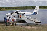 MINISTRO VALAKIVI ENTREGÓ MODERNA FLOTA DE 12 AERONAVES CANADIENSES TWIN OTTER DHC-6 SERIE 400 A LA FUERZA AÉREA DEL PERÚ (19594991591).jpg