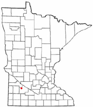 Vesta, Minnesota - Location of Vesta, Minnesota