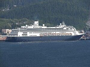 MS Volendam docked in Ketchikan, Alaska, Unite...