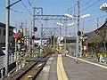 MT-Hashima-shiyakusho-mae Station-Platform.JPG