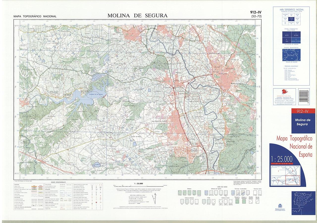 Mapa Molina De Segura.File Mtn25 0912c4 2002 Molina De Segura Jpg Wikimedia Commons