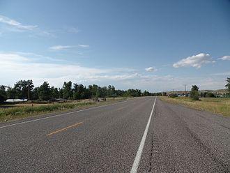 Montana Highway 78 - Montana Highway 78 northbound