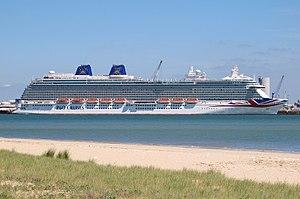 MV Britannia (2015) - MV Britannia in La Rochelle 28 May 2015
