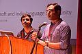 M Krishna Doss with Shashank Gupta - Presentation - Collaboration between Microsoft and Indic Language Community - Bengali Wikipedia 10th Anniversary Celebration - Jadavpur University - Kolkata 2015-01-09 2749.JPG