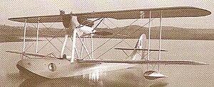 Macchi M.41 - The M.41bis, the production model of the Macchi M.41.