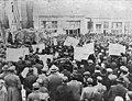 Macedonian people celebrating liberation of Kumanovo - november, 1944.jpg