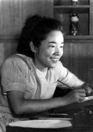 Machiko Hasegawa - Hasegawa in August 1950