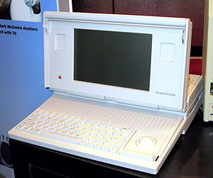 The Macintosh Portable was Apple's first