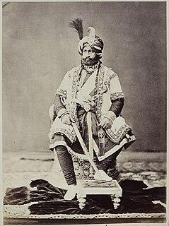 Ranbir Singh of Jammu and Kashmir Maharaja of Jammu and Kashmir
