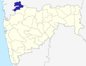 Localisation de District de Nandurbar