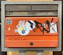 Mailbox - Malé náměstí (Prague) (July 2019).jpg