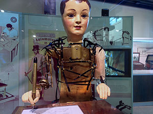 Hugo (film) - Maillardet's automaton was an inspiration for the design of the automaton in the film.
