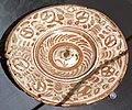 Maiolica ispano-moresca, piatto a lustro, manises, xv-xvi secolo ca. 01.jpg