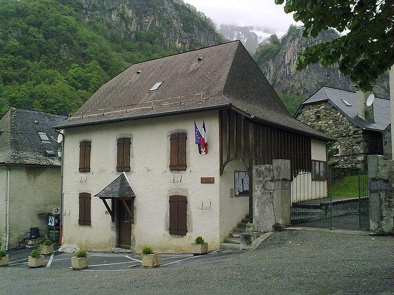 La mairie d'Etsaut
