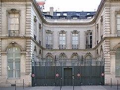 Maison 57 rue La Boétie, París (1776).
