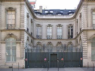Wildenstein Institute - The headquarters of the Wildenstein Institute at 57 rue La Boétie in Paris