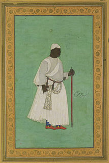 Malik Ambar Indian warrior