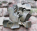 Mannheim Kunsthalle Skulpturengarten Hans Nagel Großes Relief.jpg