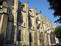 Mantes-la-Jolie - collatéral sud de la collégiale Notre-Dame.JPG