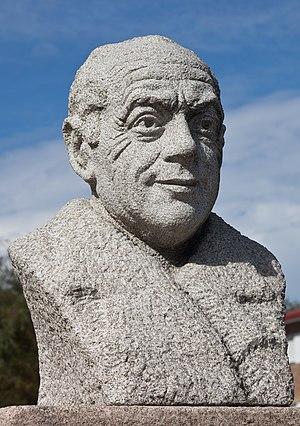 Bust of Manuel Reimóndez Portela, A Estrada, Galicia (Spain)