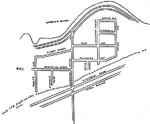 Woodroffe North - Map of neighbourhood