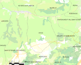 Map commune FR insee code 04065.png