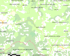 Map commune FR insee code 24263.png