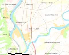 Map commune FR insee code 26250.png