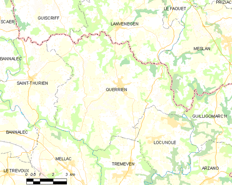 Fayl:Map commune FR insee code 29230.png
