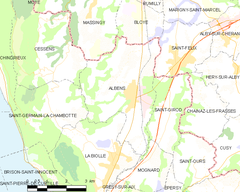 Map commune FR insee code 73010.png