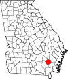 Map of Georgia highlighting Pierce County.svg